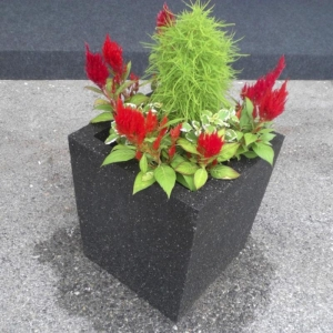 Recycled Rubber Vase